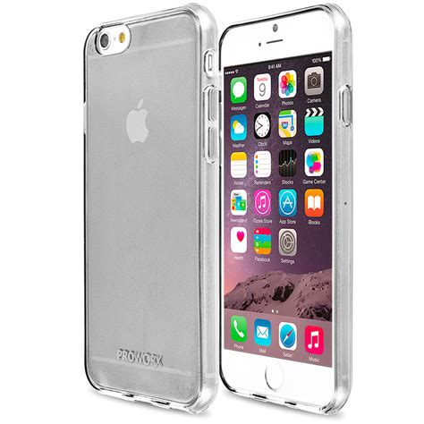 Slicoo Clear Apple Iphone 6 Rubber Ultra Fit Thin Back Hitam apple iphone 6 6s 4 7 proworx premium tpu slim fit rubber cover