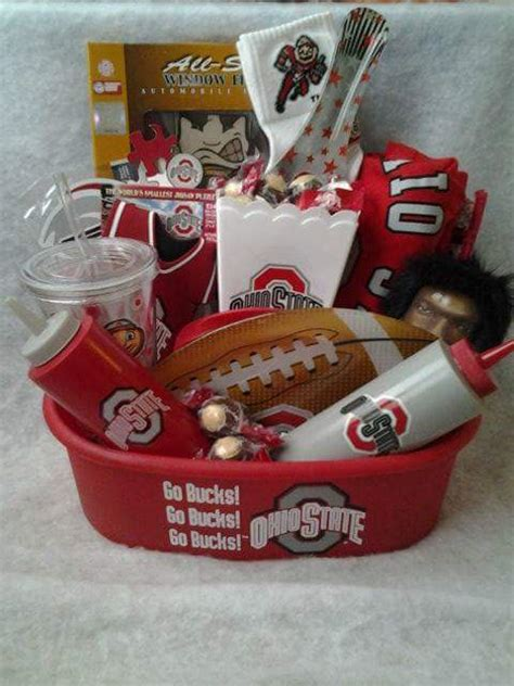 connie s creations ohio state buckeyes gift baskets