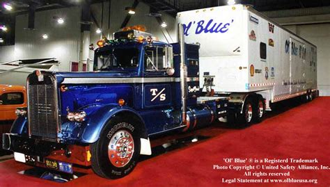 international truck show las vegas ol blue usa big blue