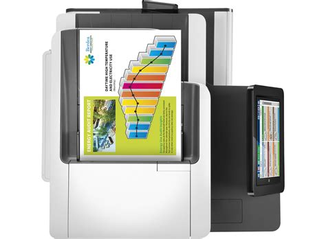 Hp Pagewide Color Mfp 586f G1w40a hp pagewide enterprise color mfp 586f thermal inkjet a4