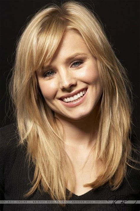 medium haircuts with bangs for round faces medium length curly 15 modern medium length haircuts with bangs layers for