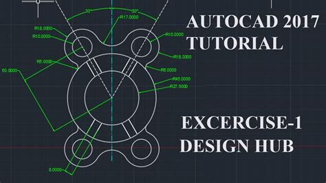 autocad 2007 2d tutorial for beginners autocad tutorial exercise 1 youtube