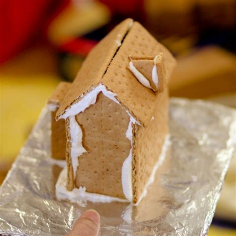 gingerbread house with graham crackers graham cracker gingerbread house gingerbread pinterest