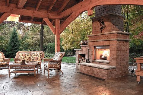 backyard fireplace ideas inspiring outdoor fireplace ideas quiet corner