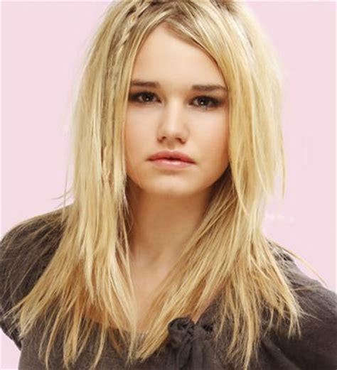 bentuk rambut untuk wajah kotak foto gambar video model rambut panjang sesuai bentuk wajah