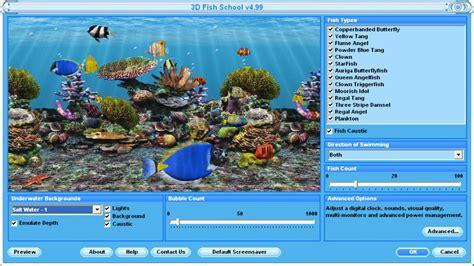 3d aquarium design program 3d fish screensaver free virtual fish aquarium download