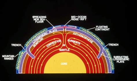 plate movement affect earth  surface  earth