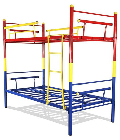 buy bunk beds furniturekraft bunk bed in multi color steel buy