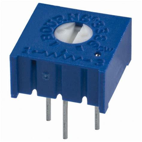 10k trimpot resistor datasheet trimpot linear horizontal de 10k 10000ω