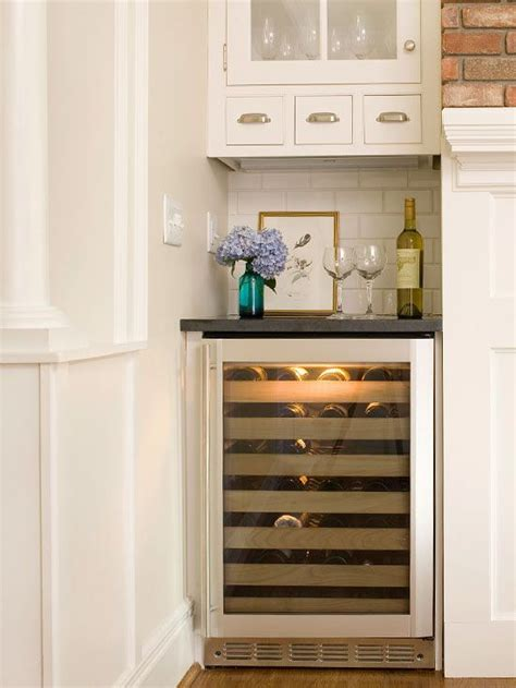 bar with fridge space space saving kitchen appliances nook wine and kitchens