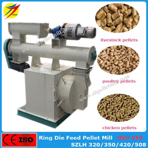 Mesin Ekstruder Pelet Ikan chicken broiler cow rabbit feed pellet machine from