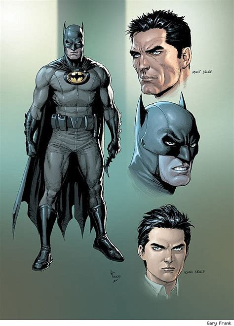 design by humans batman batman earth one by geoff johns gary frank to release