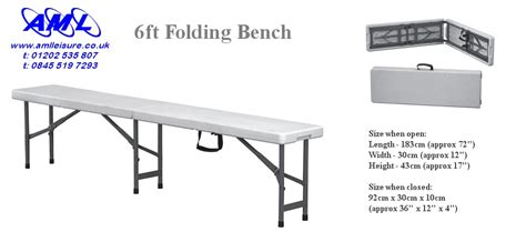 6ft folding bench folding tables chairs banquet catering 5ft 6ft