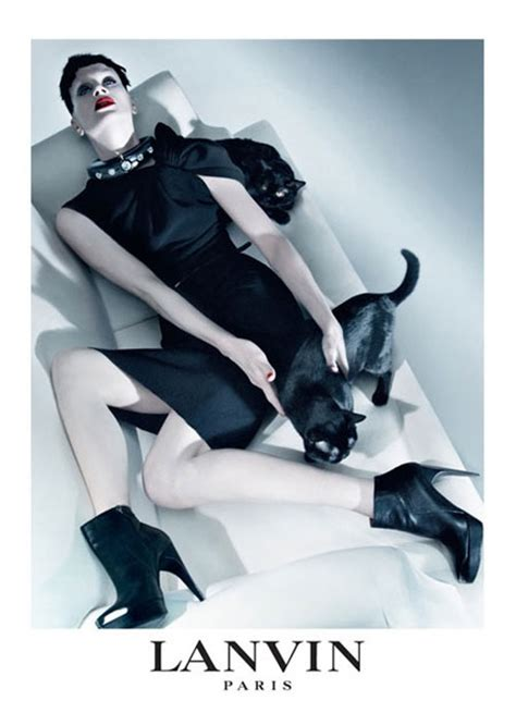 Get The Lanvin Fall 0708 Ad Look by Lanvin Ad Caign For Fall 2009 Fashion Wear
