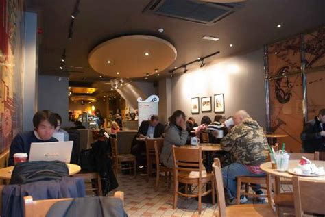 Inside the store   Picture of Starbucks Southampton Row, London   TripAdvisor