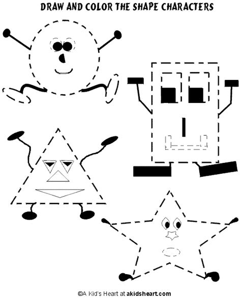 printable shape activities for preschool preschool shape pictures bloguez com