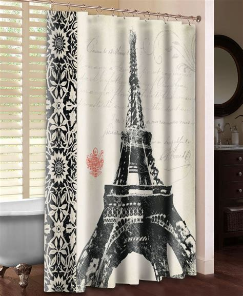 paris themed shower curtain 1000 ideas about paris theme bathroom on pinterest
