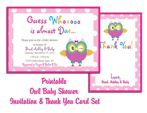 create own printable baby shower invitation templates