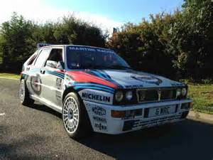 Lancia Rally Cars Lancia Delta Integrale Rally Car Road Car Car For Sale