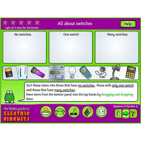 blobz electric circuits free science will educational