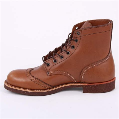 wings mens boots wing brogue ranger 08128 mens laced leather brogue