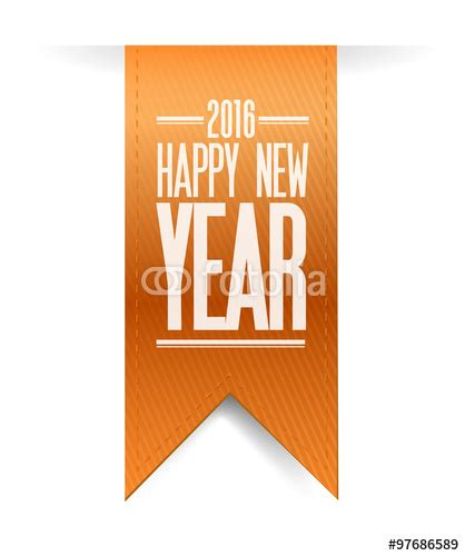 new year 2016 oranges quot happy new year orange banner 2016 sign quot stockfotos und
