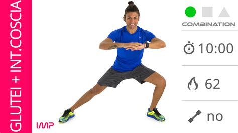 tonificare glutei e interno coscia allenamento breve con esercizi per glutei e interno coscia