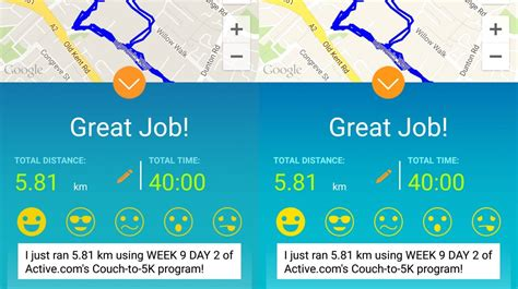 active com couch to 5k app week 9 sophie s couch to 5k diary