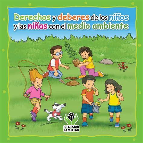 imagenes educativas sobre medio ambiente cartilla educativa sobre derechos deberes y medio
