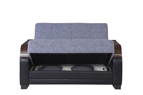 reina sofa la reina sofa bed in gray fabric by casamode w options