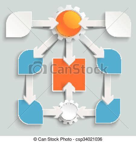 clipart frecce carta grande infographic frecce diagramma flusso