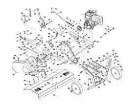 engine transmission diagram parts list for model 486252445 craftsman parts tiller parts