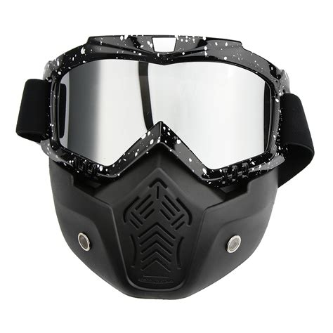 motocross goggles for glasses motorcycle atv dirt bike off road racing guard mask