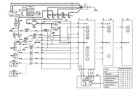 97 volvo 850 wiring diagrams repair wiring scheme