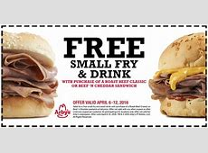 Arby's Coupons (Printable Coupons) - 2019 Arby S Coupons