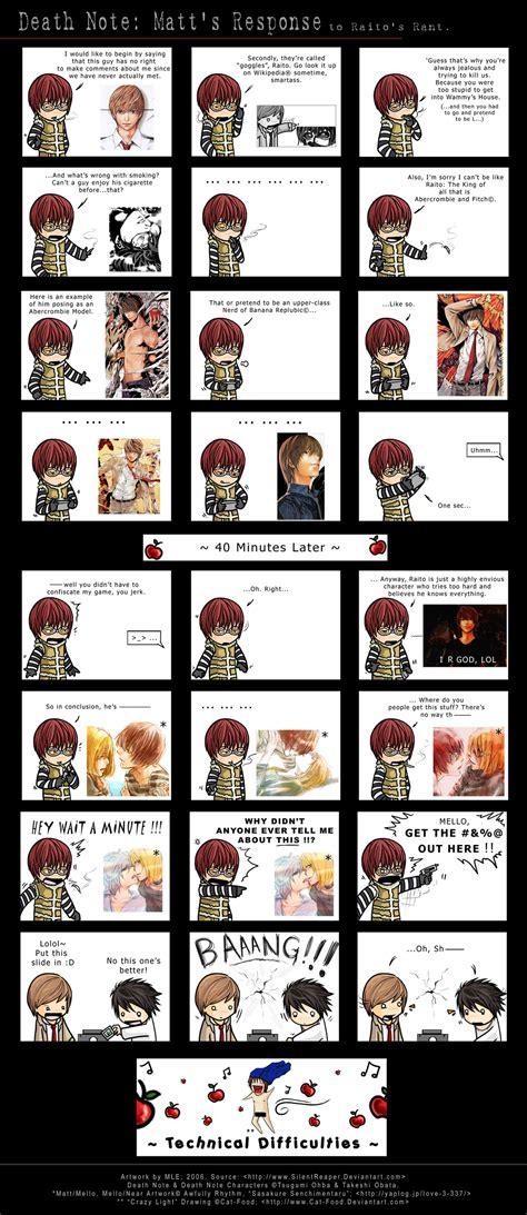 anime comic note images matt s response to raito s rant hd