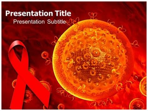 google wallpaper virus hiv aids virus powerpoint templates and backgrounds hq