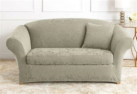Damask Sofa Slipcover by Sofa Sure Fit Stretch Jacquard Damask Separate Seat