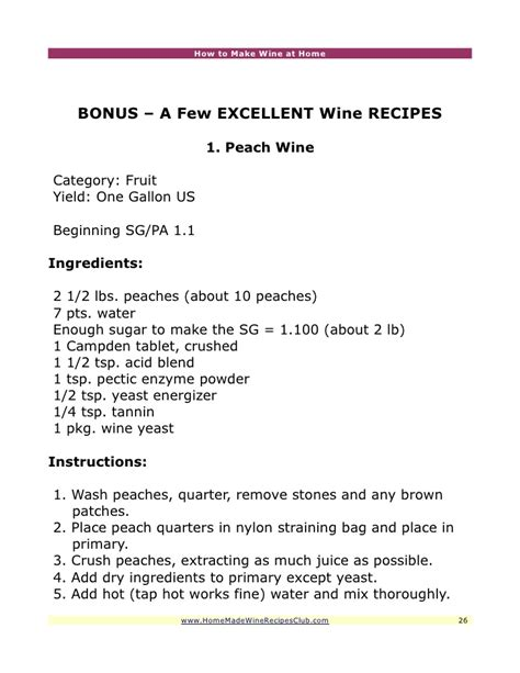 how to make wine at home wine recipes
