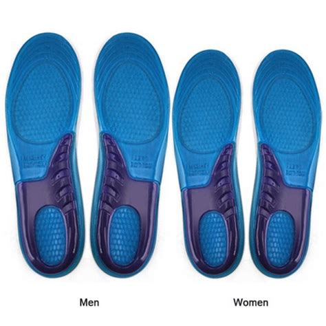 sport shoe insoles 1 pair sport insole silicone gel massaging insole