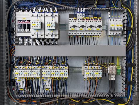 simplified panel building professional cable installation