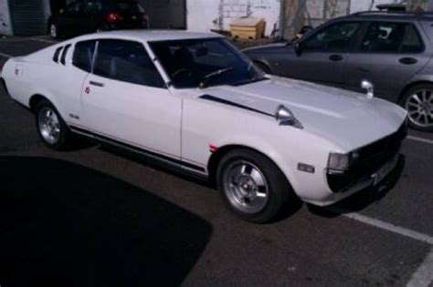 toyota ra28 celica for sale for sale ra28 toyota celica baby mustang mot tax 1977