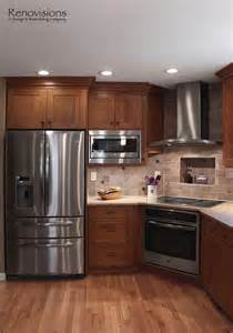 kitchen ideas with stainless steel appliances kitchen remodel by renovisions induction cooktop