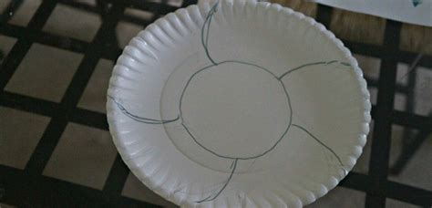 Paper Plate Basket Craft - easter craft for diy paper plate watercolor easter