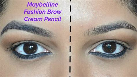 Maybelline Fashion Brow Duo Shapener maybelline fashion brow pencil review demo