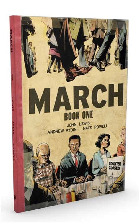 march book one march book one sized deluxe hardcover edition