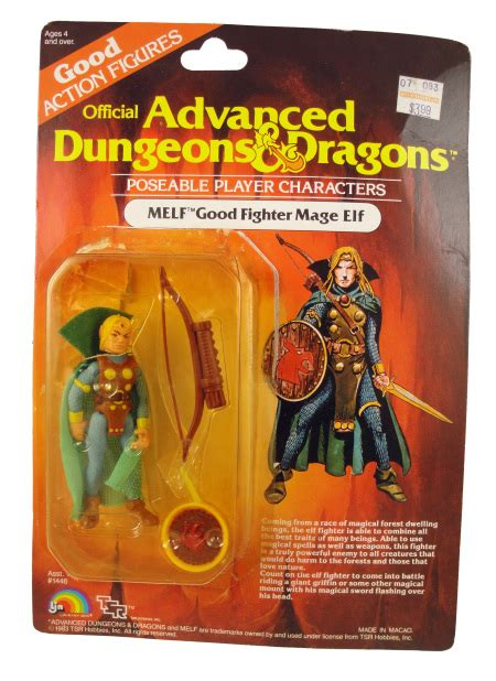 d d figures toys 1983 advanced dungeons dragons melf figure packaged
