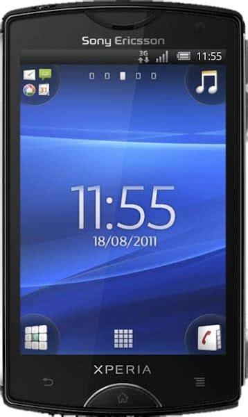 Cassing Sony Xperia X8 Set xperia mini actual size image