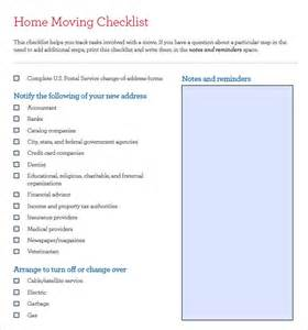 Business Relocation Plan Template 11 Moving Checklist Templates Free Example Sample Format