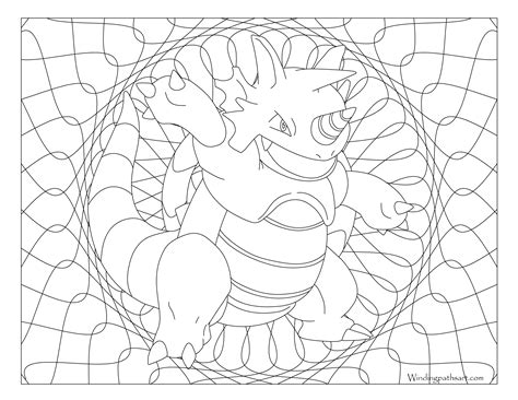 pokemon coloring pages rhyperior 112 rhydon pokemon coloring page 183 windingpathsart com